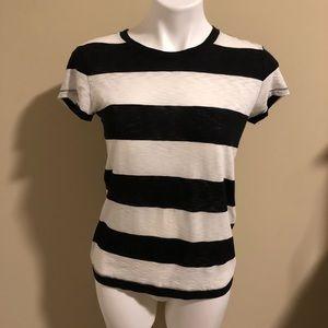 Rag & Bone t-shirt striped size small for Intermix